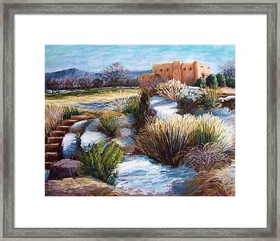 Santa Fe Spring Framed Print by Candy Mayer