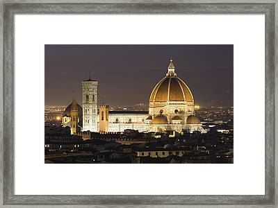 Santa Maria Del Fiore Florence Framed Print by Robert Gladwin