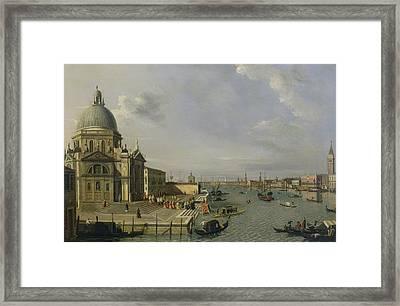 Santa Maria Della Salute - Venice  Framed Print by William James