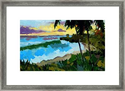 Santo Domingo 1 Framed Print by Douglas Simonson