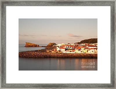 Sao Roque At Sunrise Framed Print by Gaspar Avila
