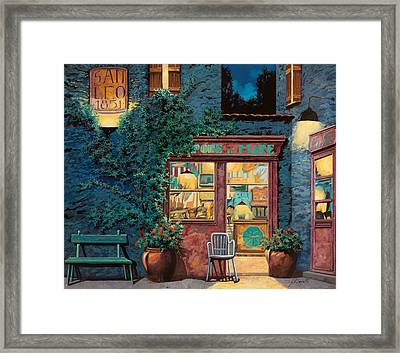 Sapore Di Mare Framed Print by Guido Borelli