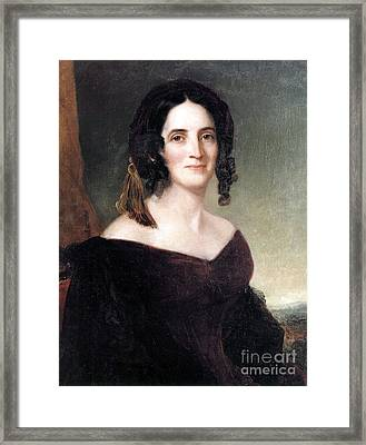 Sarah Polk, First Lady Framed Print by Science Source