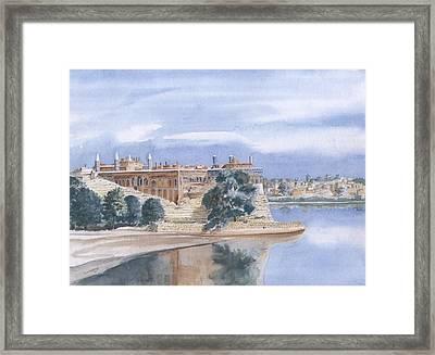 Sattaein Jo Aastan Framed Print by Sajjad Musavi