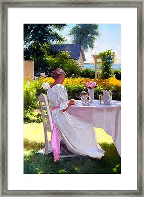 Saturated Light Framed Print by Dennis Perrin