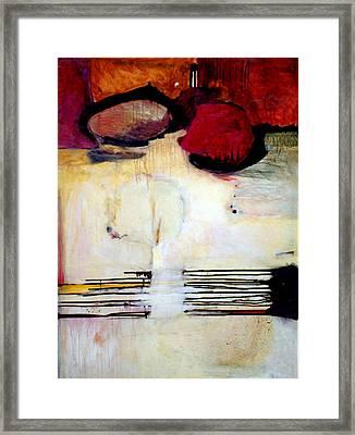 Sausalito Leap Of Faith Framed Print by Marlene Burns