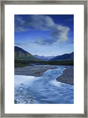 Savage Creek Framed Print by Ed Boudreau