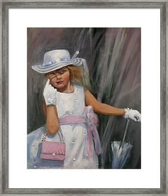 Savannah Framed Print by Tom Shropshire