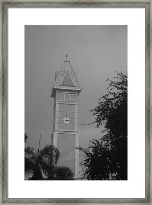 Save The Clock Tower Framed Print by Rob Hans
