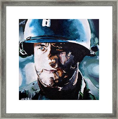Saving Private Ryan Framed Print by Martin Putsey