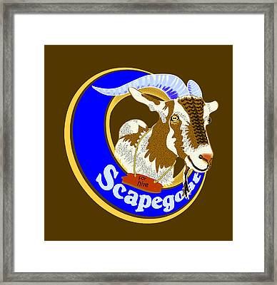 Scapegoat For Hire Framed Print by Laura Brightwood