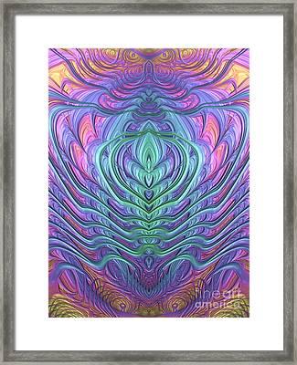 Scarab Framed Print by John Edwards