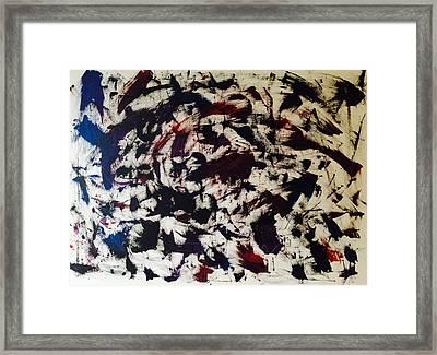 Scarred Framed Print by Dessie  Sutej