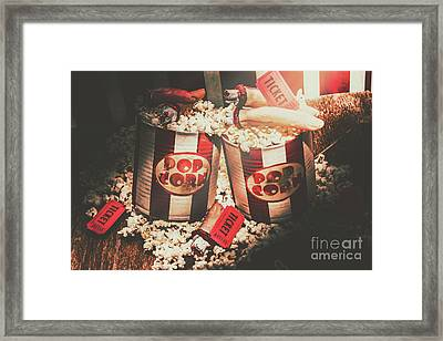 Scary Vintage Entertainment Framed Print by Jorgo Photography - Wall Art Gallery