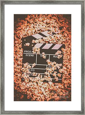 Scene From A Film Production Framed Print by Jorgo Photography - Wall Art Gallery