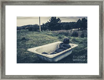 Scene Of A Serial Killing Framed Print by Jorgo Photography - Wall Art Gallery