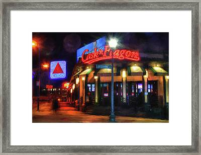 Scenes Around Fenway - Cask N Flagon - Boston Framed Print by Joann Vitali