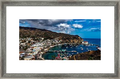 Scenic Catalina Island Framed Print by Mountain Dreams