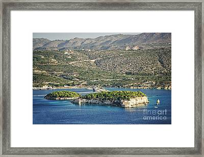 Scenic Crete Framed Print by HD Connelly