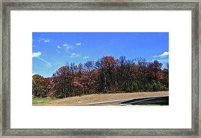 Scenic View At Jim Beam Distillery Framed Print by Marian Bell