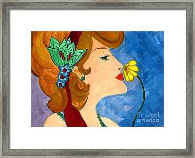 Scent Of Spring Framed Print by Norma Appleton