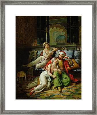 Scheherazade Framed Print by Paul Emile Detouche