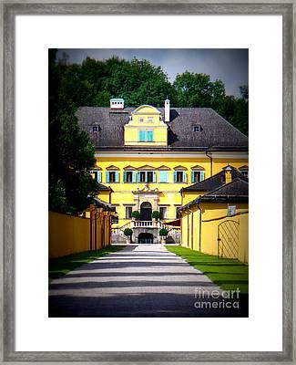 Schloss Hellbrunn Framed Print by Carol Groenen