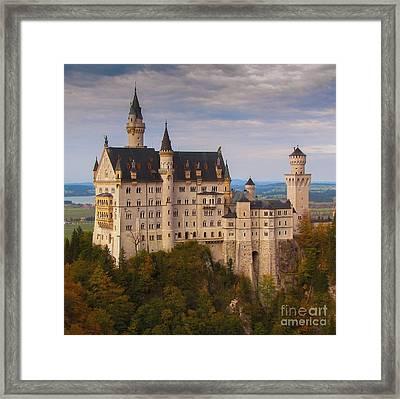 Schloss Neuschwanstein Framed Print by Franziskus Pfleghart