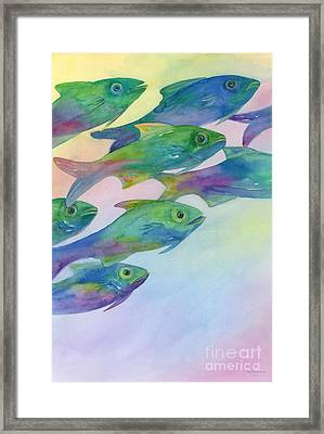 School's Out Framed Print by Amy Kirkpatrick