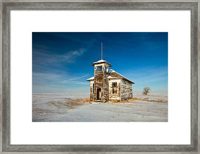 School's Out Framed Print by Todd Klassy