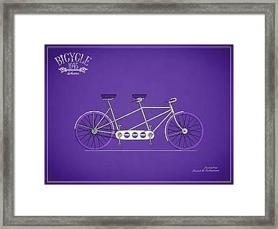 Schwinn Bicycle 1945 Framed Print by Mark Rogan