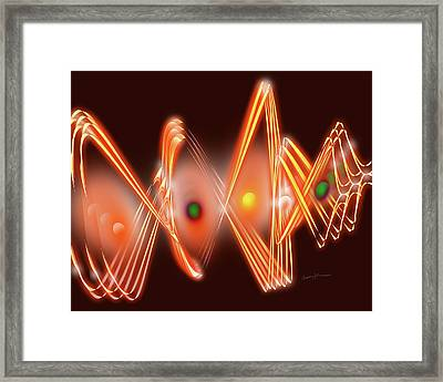 Science Fiction Framed Print by Anthony Caruso