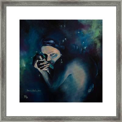 Scorpio Framed Print by Dorina  Costras