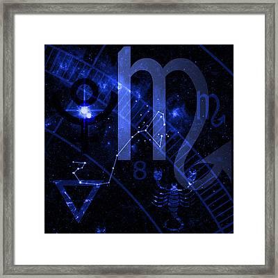 Scorpio Framed Print by JP Rhea