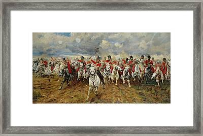 Scotland Forever Framed Print by Elizabeth Southerden Thompson