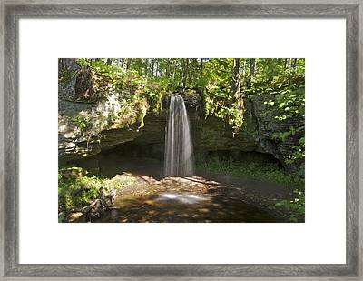 Scott Falls 4750 Framed Print by Michael Peychich