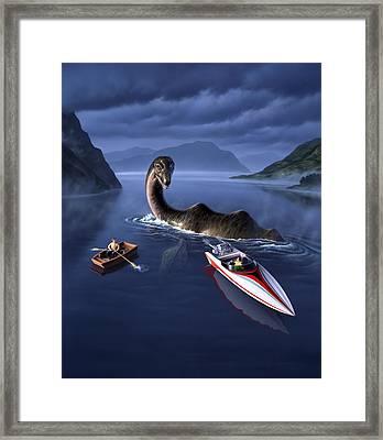 Scottish Cuisine Framed Print by Jerry LoFaro