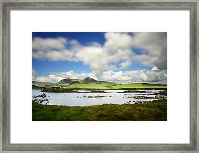 Scottish Highlands Framed Print by Sarah Coppola