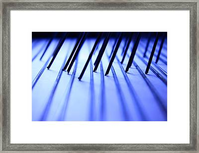 Scribble Framed Print by Mark  Ross