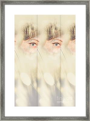 Scrying Parallel Lives Framed Print by Jorgo Photography - Wall Art Gallery