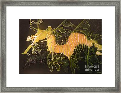 Sea Dragon Framed Print by Carol Northington