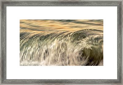 Sea Energy Framed Print by Stelios Kleanthous