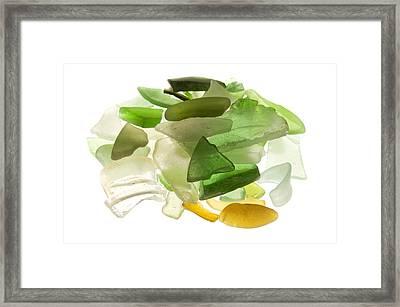 Sea Glass Framed Print by Fabrizio Troiani