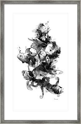 Sea Life Framed Print by Mark Taylor