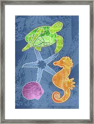 Sea Life Framed Print by Mary Ogle