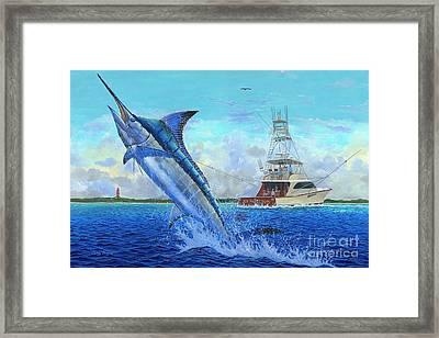 Sea Lion Framed Print by Carey Chen