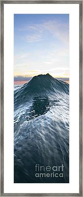 Sea Mountain -  Part 2 Of 3 Framed Print by Sean Davey