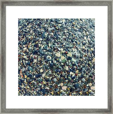 Sea Pebbles2 Framed Print by Stelios Kleanthous