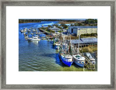 Sea Ray Of Savannah  Framed Print by Reid Callaway