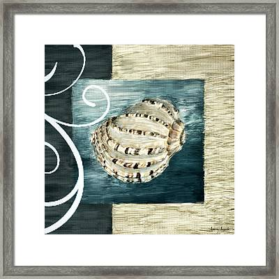 Sea Treasure Framed Print by Lourry Legarde
